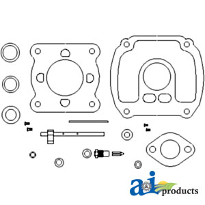 Waters tractor llc carburetor kit ih allis chalmers complete models allis chalmers u uc farmall f 20 f 30 w30 fits zenith carb 6496 6699 6817 k5 ccuart Image collections