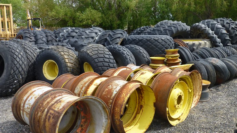 Compact Tractor Tires And Wheels : Tires and rims tractor for sale