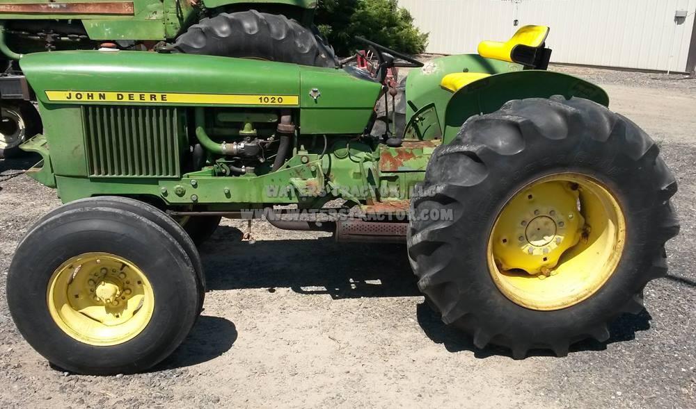 John Deere 1020 Carburetor Parts : Waters tractor llc